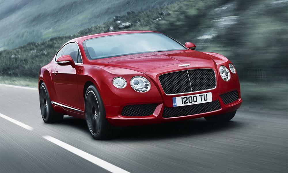 Стала известна стоимость обновленного Bentley Continental GT