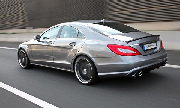 Mercedes CLS-Class получит девятидиапазонную АКПП