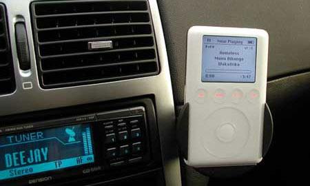 Плеер iPod теперь можно купить в автосалоне