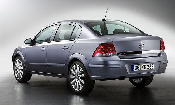 Opel представляет новый седан Astra