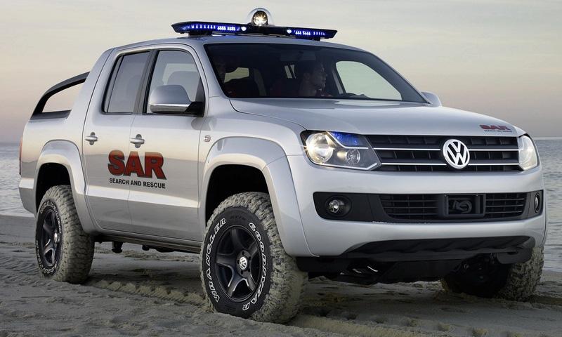 Volkswagen опубликовал фото пикапа Robust
