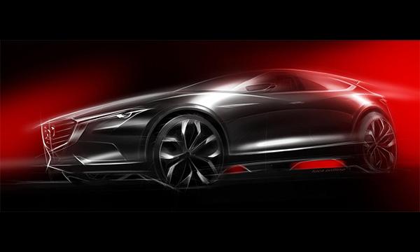 Mazda показала первое изображение нового кроссовера