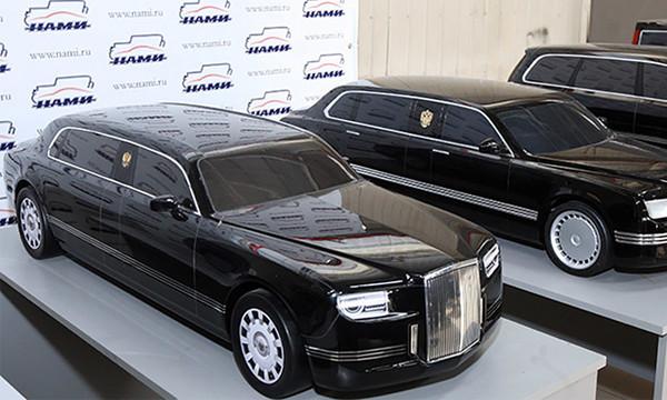 Минпромторг заказал разработку автомобиля для президента
