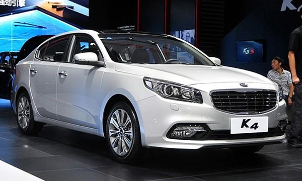 Kia представила новый седан K4