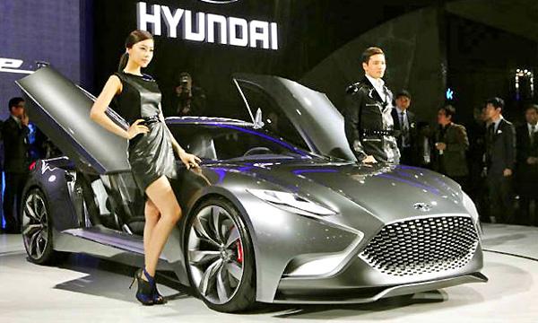 Купе Hyundai HND-9 получило 370-сильный мотор