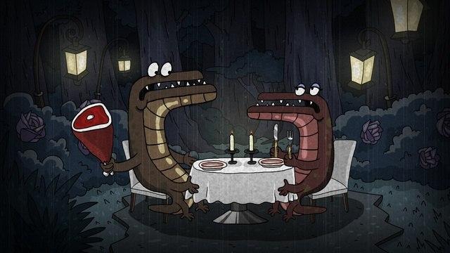 Кадр из мультфильма «Атомный лес»