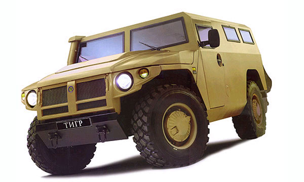 Спецавтомобиль Тигр