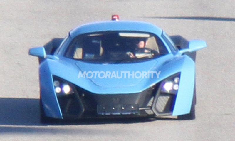 Опубликованы шпионские фото серийного Marussia B2