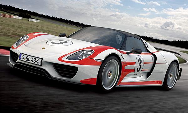 Самый быстрый гибридный Porsche 918 выпустят ограниченной серией