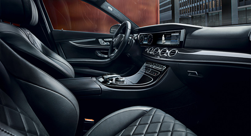 Интерьер Mercedes-Benz E-Class