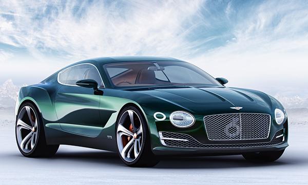 Bentley планирует разработать свой первый электрокар