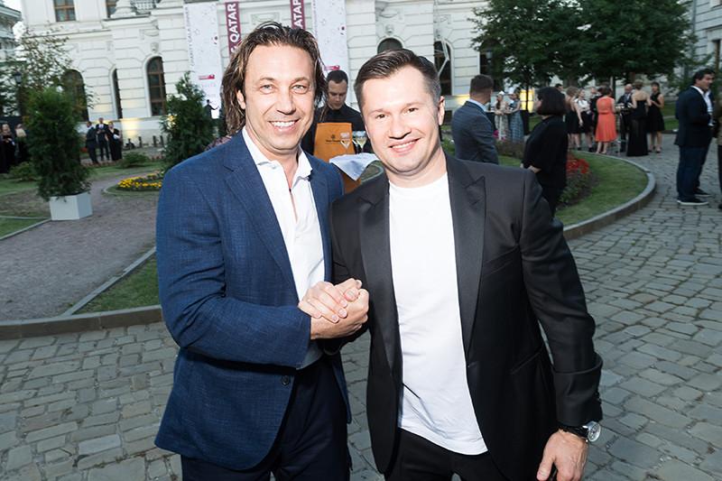 Александр Мостовой и Алексей Немов