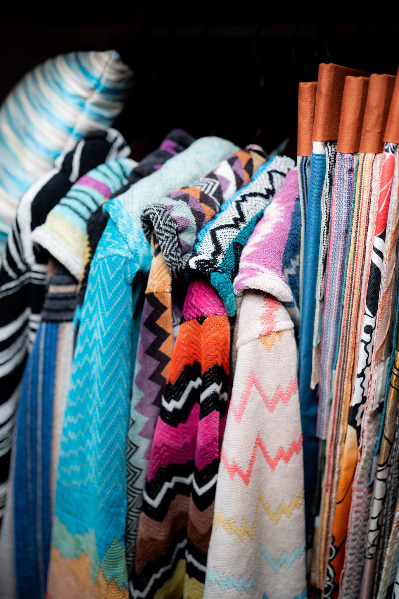 Халаты и ткани из коллекций MissoniHome в галерее Mobillissimi