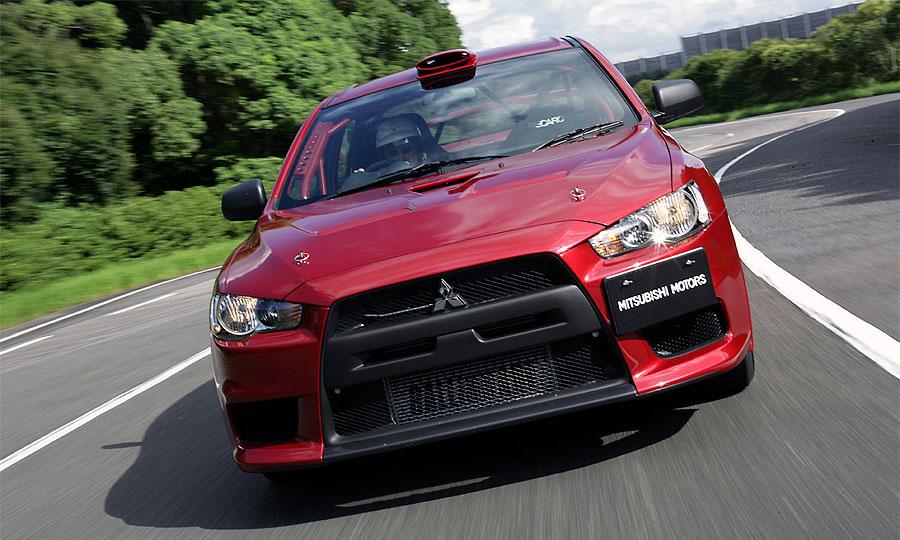 Mitsubishi Lancer Evolution X WRC