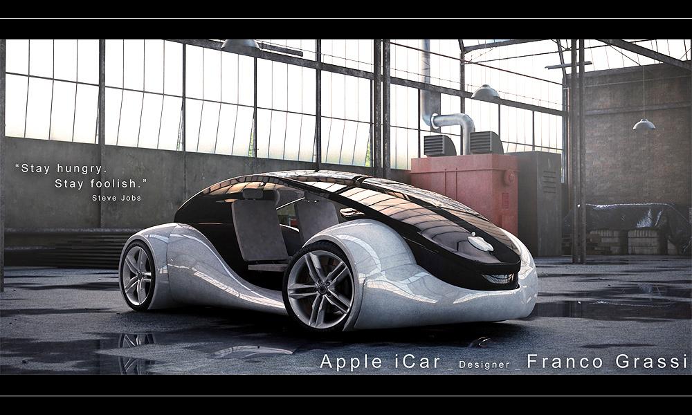 Apple iCar: две педали – это слишком много для XXI века