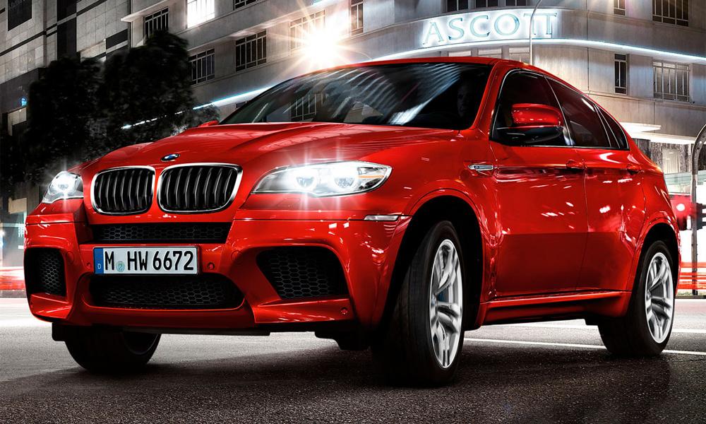 BMW объявила российские цены на полноприводные X5 M и X6 M