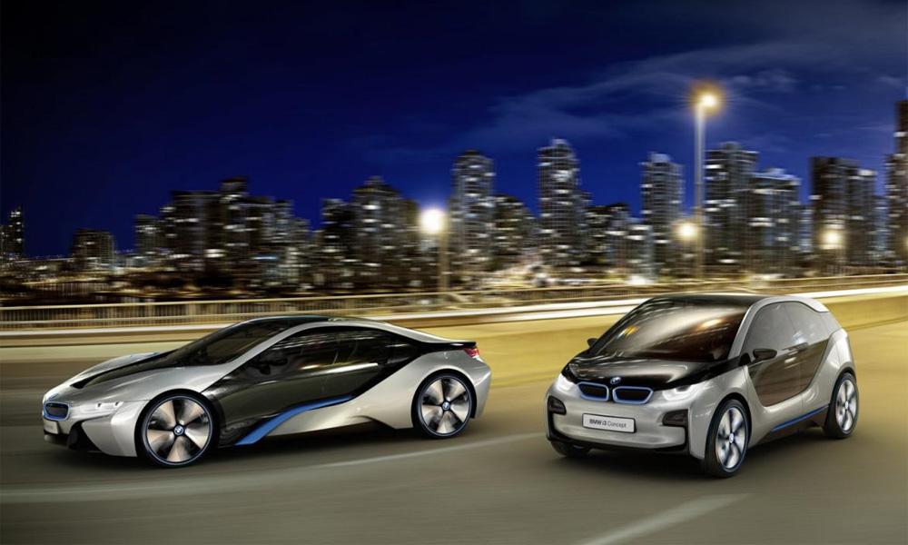 BMW из розетки: электромоторы и космический дизайн