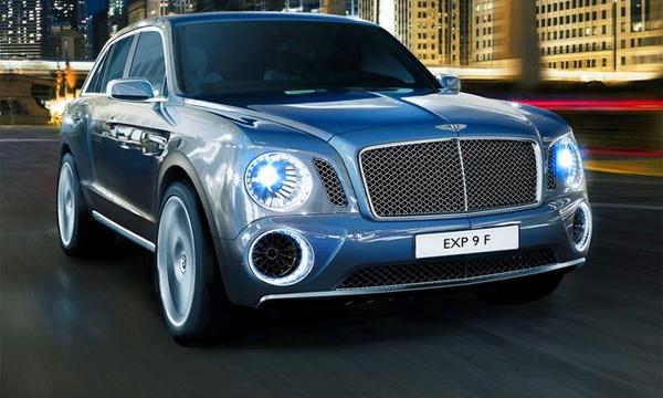 Bentley запускает свой Cayenne