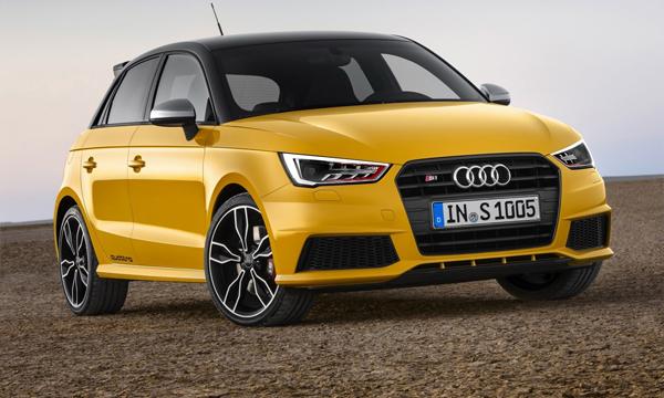 Audi рассекретила модель S1 Quattro