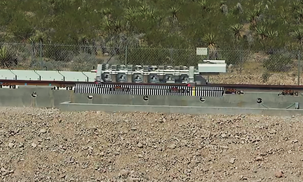 В США прошли испытания двигателя вакуумного поезда Hyperloop Илона Маска