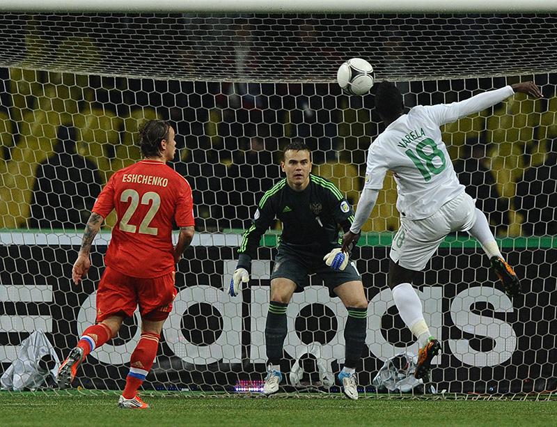 400 матч Игоря Акинфеева: Россия – Португалия