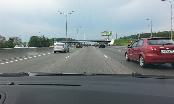 Москвичам запретили ехать быстрее