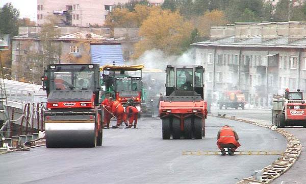 В Уфе ремонт трассы прекратили из-за плохого асфальта