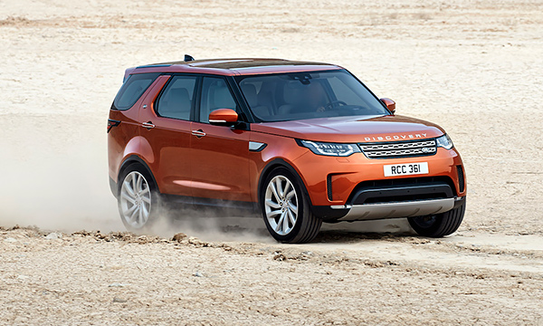 Land Rover представил Discovery нового поколения