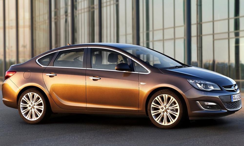 Седан Opel Astra будут выпускать в Петербурге