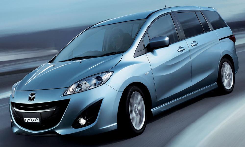 Mazda начала прием заказов на полностью обновленную Mazda5