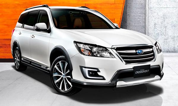 Subaru разработает семиместный кроссовер к 2018 году
