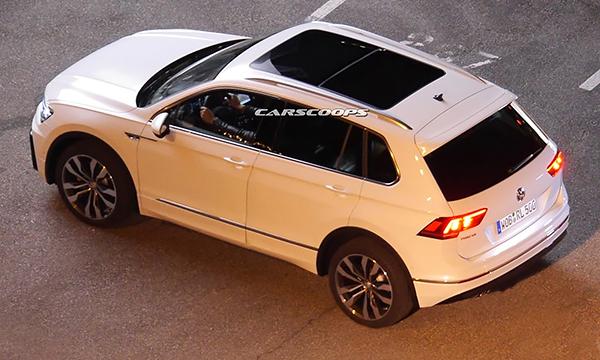 Новое поколение Volkswagen Tiguan замечено без камуфляжа