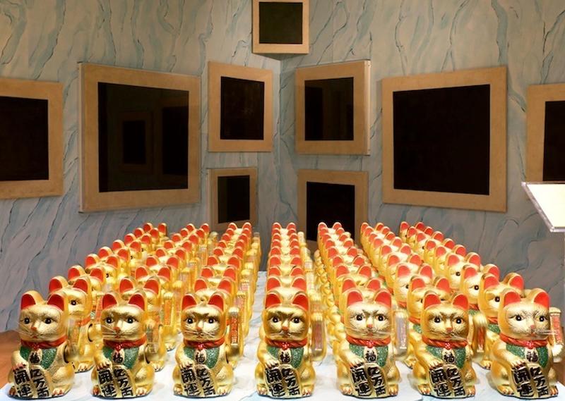 Проект Арсения Жиляева «Колыбель человечества». Выставка фонда V-A-C во дворце Каза деи Тре Очи. Венеция, 2015 г.