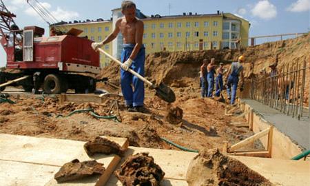 В Печатниках и Отрадном началось строительство народных гаражей