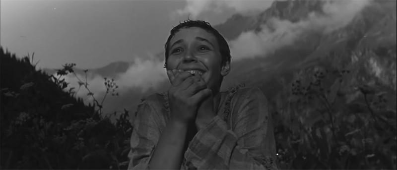 Кадр из фильма «Альпийская баллада»
