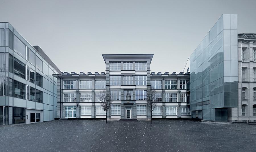Мануфактура IWC Schaffhausen, здесь же находится и музей бренда