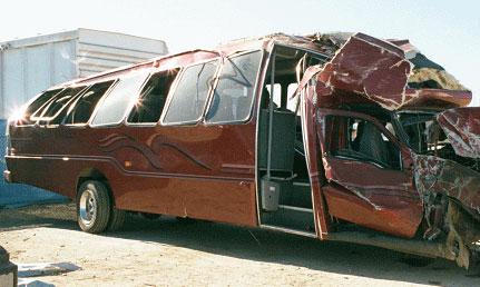 В Испании разбился автобус с футбольными болельщиками