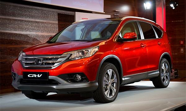 Honda объявила комплектации для новой версии CR-V