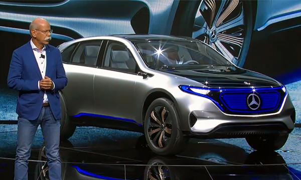 Mercedes-Benz создал электрокар будущего