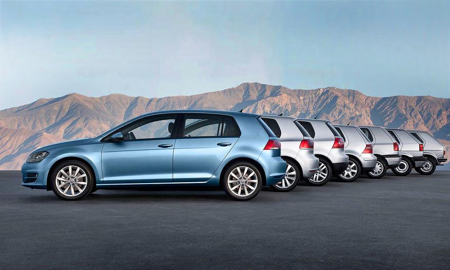 Volkswagen Golf: культ в седьмом поколении