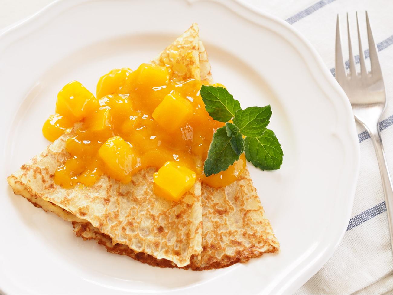 Варенье из манго поднимает настроение и напомнит о жарких странах холодной зимой