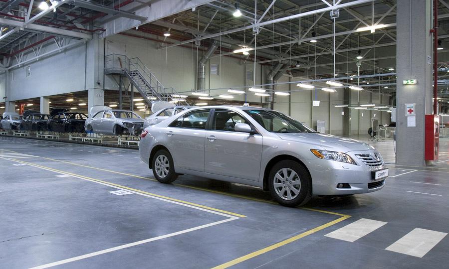Российский завод Toyota остановил производство до 7 апреля
