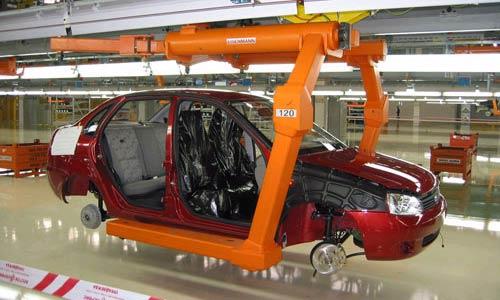 Объем производства АвтоВАЗа в I полугодии вырос на 8,1%