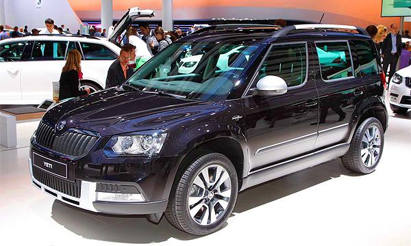 «ГАЗ» начнет производство обновленного Skoda Yeti в феврале