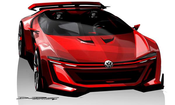 Volkswagen представил 503-сильный суперкар