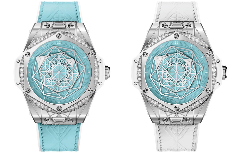 Часы Hublot Big Bang Sang Bleu Steel Turquoise Special Edition
