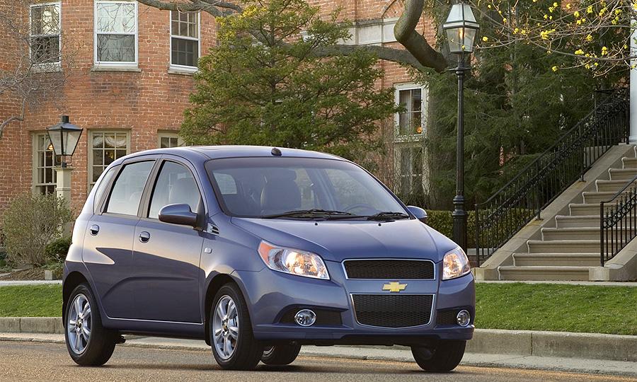 General Motors огласил цены на Chevrolet Aveo 2009
