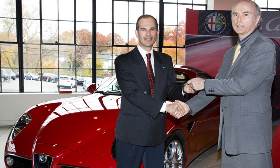 Первая за 14 лет Alfa Romeo 8C Competizione доставлена в США