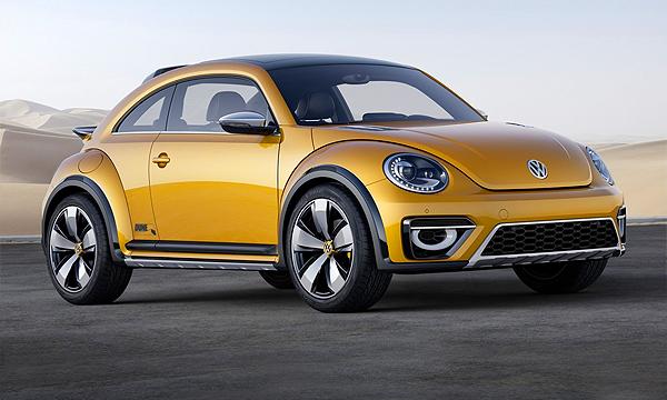 Volkswagen Beetle превратили в кроссовер