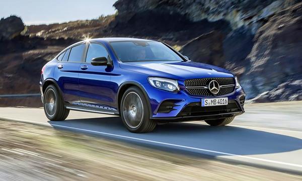 Компактный кроссовер Mercedes GLC Coupe хотят превратить в кабриолет